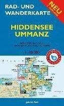 Hiddensee, Ummanz 1 : 30 000 Rad- und Wanderkarte