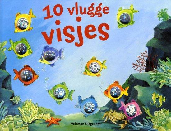 Cover van het boek '10 vlugge visjes' van P. Mennen