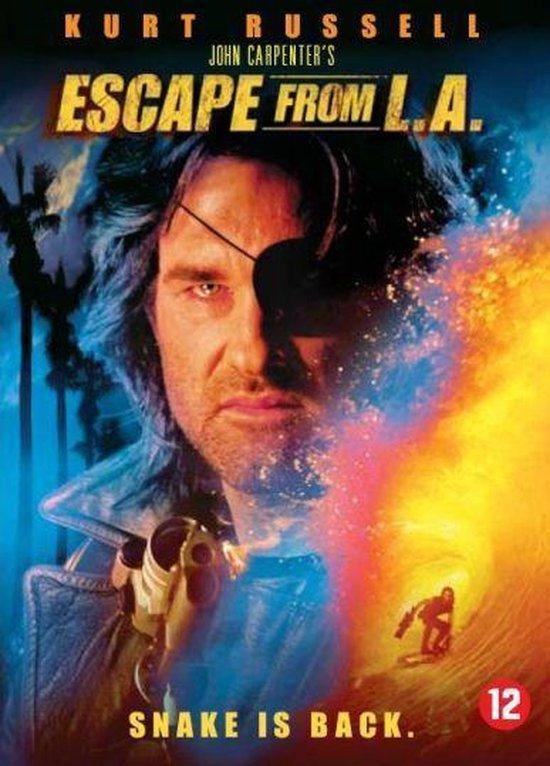 Cover van de film 'Escape From L.A.'