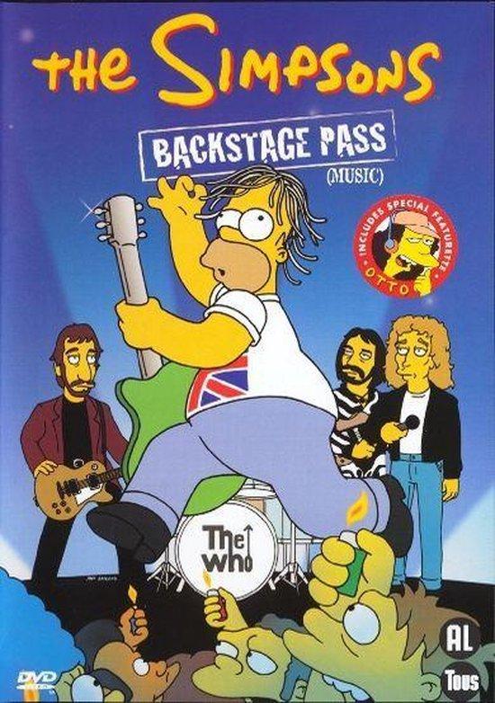 Cover van de film 'Simpsons, The - Backstage Pass'
