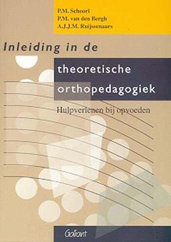 KOP-Serie 21 - Inleiding in de theoretische orthopedagogiek - P.M. Schoorl  