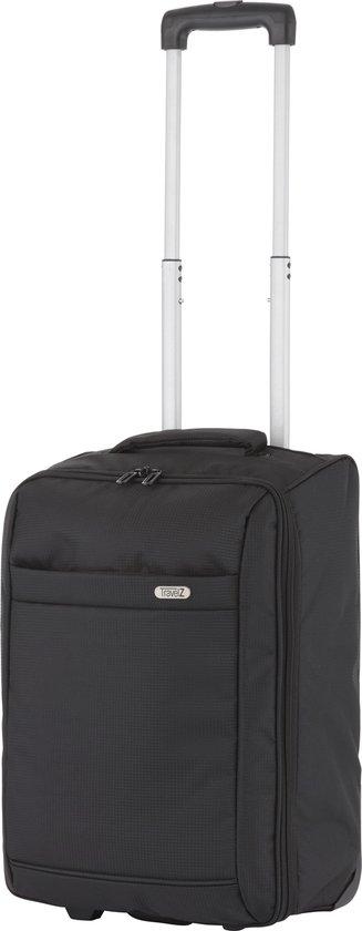 TravelZ Handbagage trolley - Handbagagekoffer 51cm - Ultralicht 1,7kg met 2...