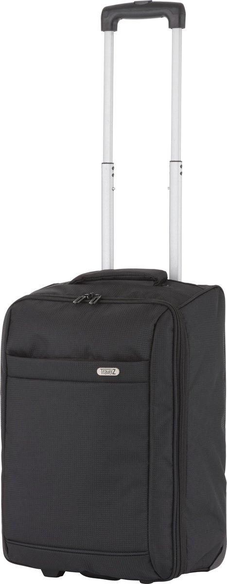 TravelZ Handbagage trolley   Handbagagekoffer 51cm   Ultralicht 1,7kg met 2 wiel   Volledig gevoerd