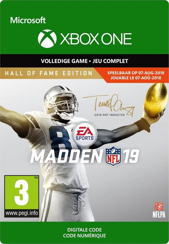 Madden NFL 19: Hall of Fame Edition – Xbox One Download