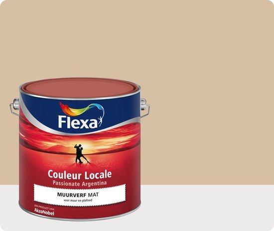 Flexa Couleur Locale - Muurverf Mat - Passionate Argentina Breeze  - 7545 - 2,5 liter