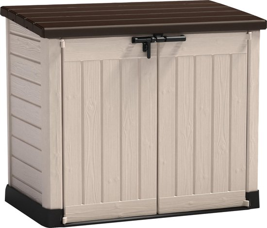 Keter Store It Out Max Opbergbox - 1200L - 145,5x82x125cm - Bruin/Beige