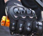 Motorhandschoenen – Racing – Motorbike – Motorcross – Ademende Handschoenen – Volledige bescherming – Motorkleding – Motor - Size M - Zwart