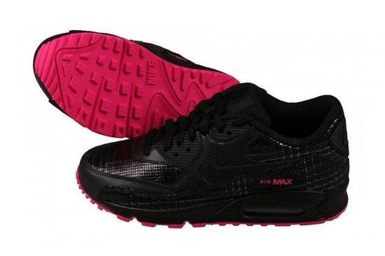 nike air max dames zwart roze