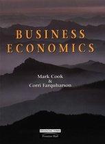 Boek cover Business Economics van Mark Cook