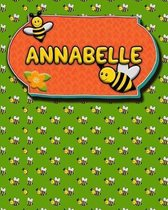 Handwriting Practice 120 Page Honey Bee Book Annabelle