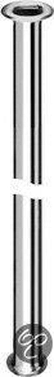 Plieger Pijp met kraag 3/8X1/2 L=30Cm chroom Plieger Label Bl 2St