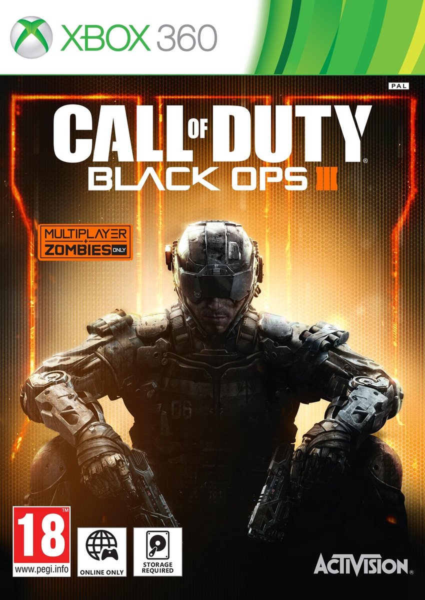 Call Of Duty: Black Ops 3 - Xbox 360 - Activision