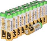 GP Super Alkaline AA Batterijen - 20 stuks