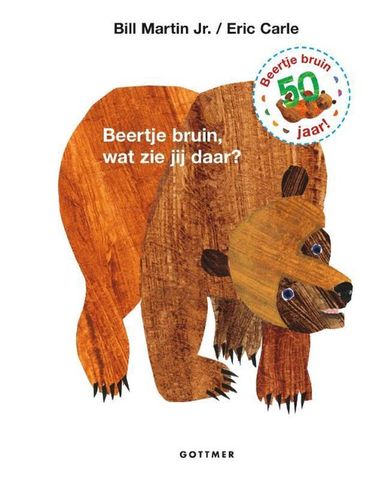 Beertje Bruin, wat zie jij daar?
