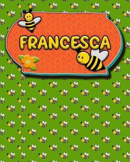 Handwriting Practice 120 Page Honey Bee Book Francesca