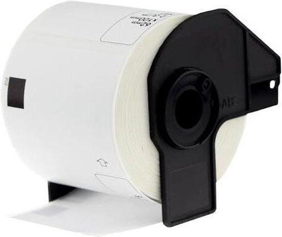 4x Brother DK-11203 Compatible voor Brother 's range of QL printers, 17mm * 87mm