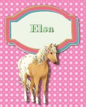 Handwriting and Illustration Story Paper 120 Pages Elsa