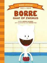 De Gestreepte Boekjes - Groep 2 februari: Borre gaat op zwemles