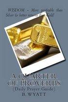 A Quarter of Proverbs