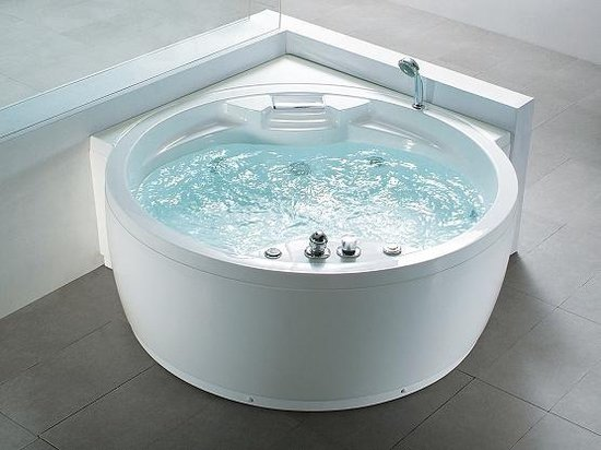 Bol Com Whirlpool Bad Rond Spa Indoor Jacuzzi Bubbelbad Milano