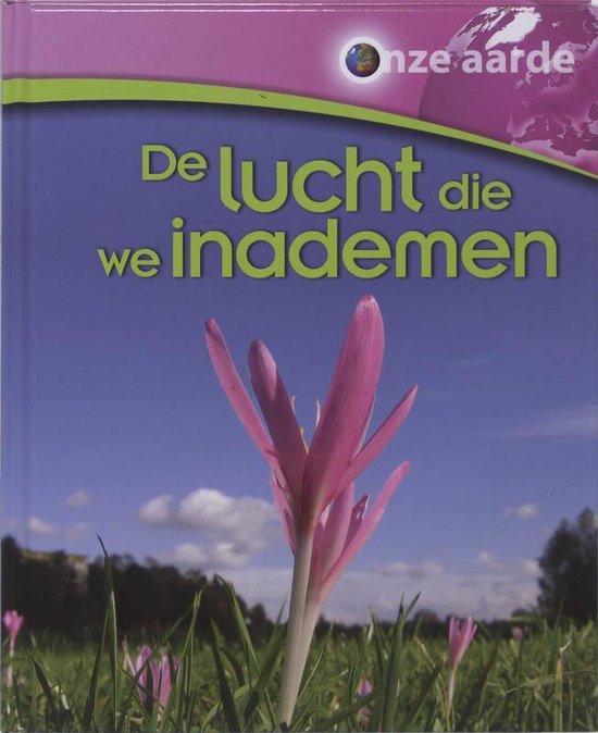 Cover van het boek 'De lucht die we inademen' van J. Green