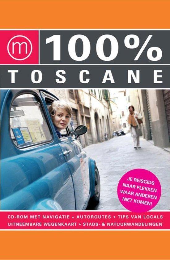 Cover van het boek '100% Toscane' van A. Hofstra en E. Leenaars