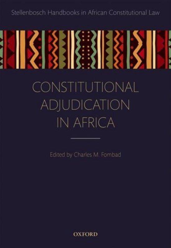 Constitutional Adjudication in Africa