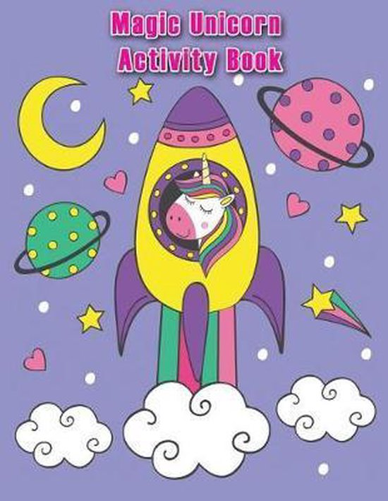 Magic Unicorn Activity Book