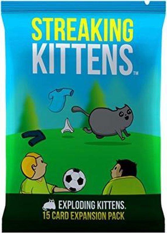Bol Com Exploding Kittens Streaking Kittens Uitbreiding Engelstalig Kaartspel Games