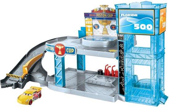 Afbeelding van Cars 3 Piston Cup Garage Speelset - Speelgoedgarage
