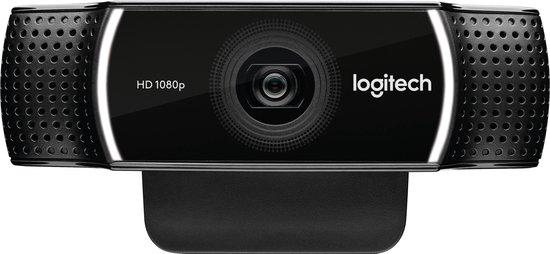 Logitech Webcam C922 Pro Stream Webcam - Full HD Webcam - Zwart