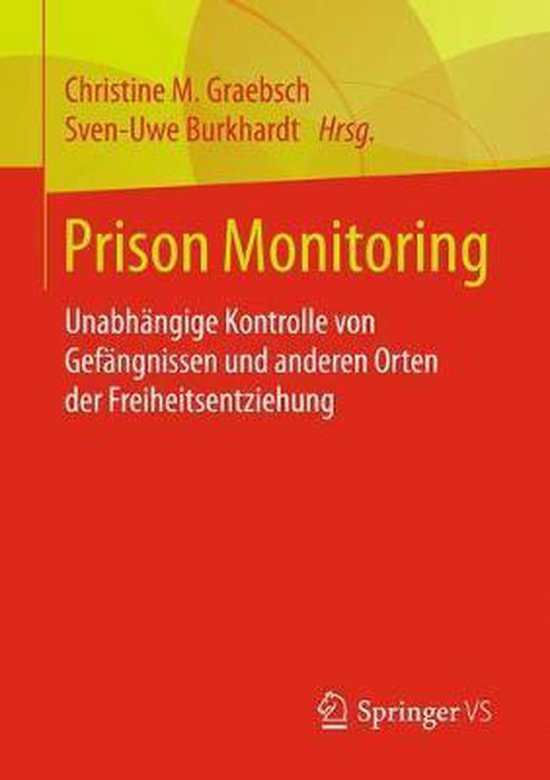 Boek cover Prison Monitoring van  (Paperback)