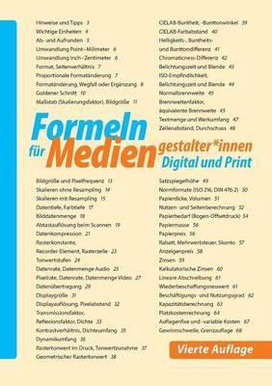 Formeln F r Mediengestalter*innen Digital Und Print
