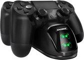 DOBE Oplaadstation voor Playstation 4 Controller – Dubbele Snel Oplader PS4 - Slim - Pro
