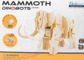 Lopende 3D Mammoet Houten Puzzel