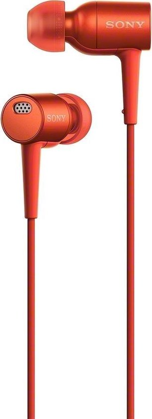 Sony h.ear MDR-EX750NA - Hi-Res audio - In-ear oordopjes met Noise Cancelling - Rood
