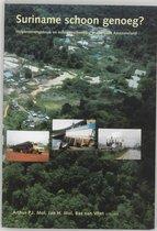 Suriname Schoon Genoeg ?