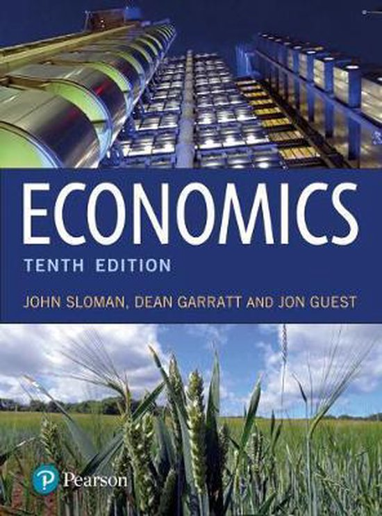 Boek cover Economics with MyLab Economics van John Sloman (Onbekend)
