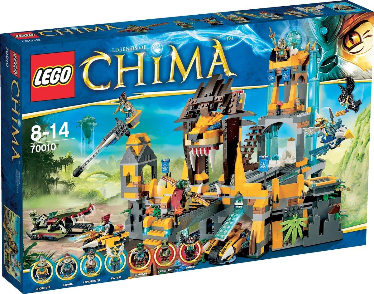 LEGO Chima De Leeuwen Chi Tempel - 70010