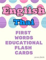 English Thai First Words Educational Flash Cards