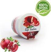 Lippen Balsem Pomegranate - Hydrateert, Voedt & Verzorgt - 30ml 100% Bio