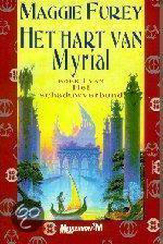 Cover van het boek 'Hart van myrial' van Maggie Furey