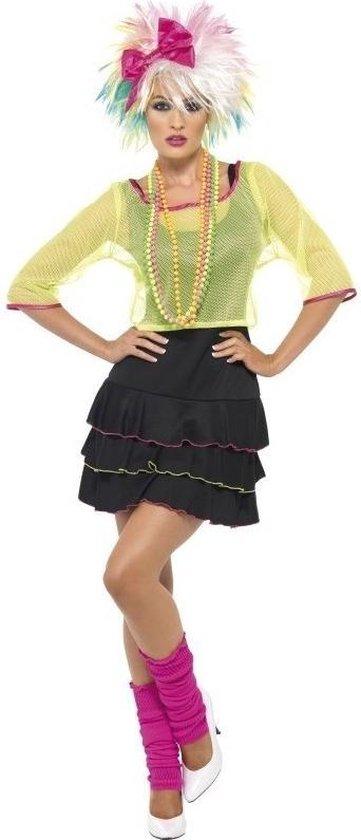 Fonkelnieuw bol.com | Jaren 80/80s popster verkleed kostuum/jurk voor dames OX-87