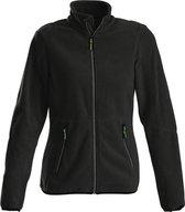 Printer Speedway lady fleece jacket Black L