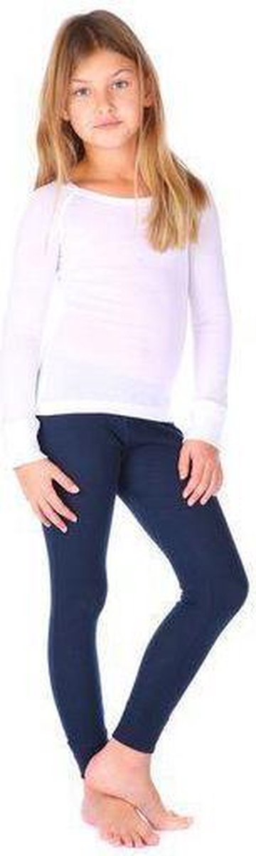 THERMO4SPORTS thermokleding - Thermoset wit-donkerblauw