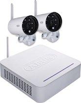 ABUS TVAC18000A Draadloos 4kanalen videotoezichtkit