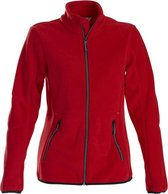 Printer Speedway lady fleece jacket Red L