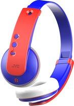 JVC HA-KD9BT-A-E Draadloze kinder koptelefoon blauw/rood