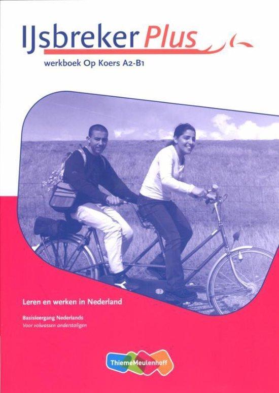 Boek cover IJsbreker Plus Op Koers A2-B1 Werkboek van Fouke Jansen (Paperback)