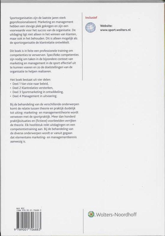 Marketing En Management In De Sport - J. van Wijk pdf epub